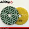 High Quality Marble Slab Diamond Abrasive Pad Dry Used