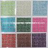 6mm 100PCS/Sheet 10 Sheets/Lot Self Adhesive Diamante Stick on Rhinestone Gems DIY Rhinestone Sticker (TP-6mm)