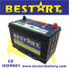 12V 80ah Electric Vehicle Auto Mf Car Battery Maintenance Free 95D31r