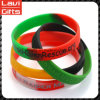 Wholesale Custom Fashion Printing Silicone Rubber Bracelet with Logo