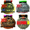 China Customized Silver Half Marathon Medal