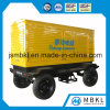 200 Kw Diesel Silent Soundproof Generator Series with Portable Mobile Trailer (optional brands for engine)