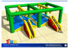 Competitive Single-Log Bridge Inflatable for Playground