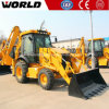 Small Tractor Front Loader with Backhoe