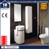 White Lacquer Wall Mounted Bathroom Furniture Cabinet with Mirror