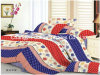 King Size Printed Microfiber/Polyester Quilt Cover Faric for Bedding Set