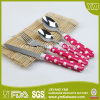 One Set Packing Plastic Handle Cutlery Reusable Plastic Flatware