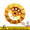 Spiral Diamond Grinding Disc for Concrete and Masonry - Hscw