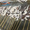 Supplying Frozen Fish Squid Skewer