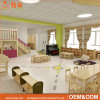 Green Country Style Kindergarten Furniture for Preschool Classroom