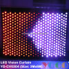 3m*4m LED Vision Curtain / LED Video Curtain / LED Star Curtain / LED Stage Lighting