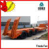 China 3 Axle Low Flatbed Trailer 80ton