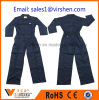 China Customized Cheap Price Long Sleeves Navy Polyester Coverall