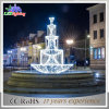 Holiday LED Outdoor White Decoration 3D Christmas Motif Fountain Light