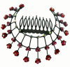 Fashion Diamond Hair Comb (XHB1094)