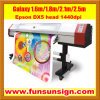 Best Seller Galaxy 1.6m Digital Printing Machine (dx5 head, high resolution 1440dpi)