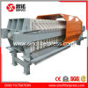 Once Open Hydraulic PP Chamber Filter Press with Protective Cover