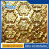 Stainless Steel Pattern Stamping Metal Decorative Plate Hexagonal Star Relief