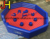 9*9m Interactive Inflatable Wipeout Mechanical Game for Sale