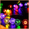 50LED Diamond Shape Solar Powered String Lights for Garden Party