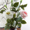 Bridal Wedding Rose Bouquet Head Lataex Real Touch Flower Bouquets White Artificial Rose Flowers