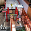 Profile Rainwater Roof Gutter Roll Forming Machine