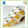 High Quality Color Printed Adhesive Vinyl Sticker Label (JP-S167)