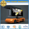 Mobile LED Display Board Trailer with Adjustable LED P8 P10 Screen