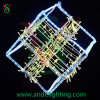 LED 3D Frame Motif Light for Christmas Decoration