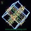 LED 3D Frame Motif Light for Christmas Decoration