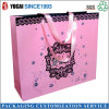Pink Paper Shopping Bag for Sale