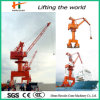 40t Single Jib Port Crane From China, Hydraulic Jib Crane