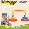 2014 Kids Intelligent DIY Plastic Flower Mini Top Toy