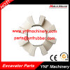 Excavator Rubber Coupling 160h Shaft Coupling Assembly