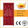 Exterior Front Chipboard Wooden Door Design (SC-W013)