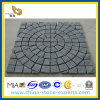 Meshed Granite Cube Stone for Outside Landscape