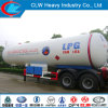 30 Ton Twin-Axles LPG Semi-Trailer