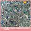 Small Big Stones Mixed Hot Fix Rhinestone Mesh Sheet