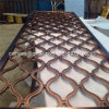Aluminium Perforated Carved Decorative Metal Panel for Fence, Screen, Wall, Room Divider, Facade