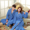 Flannel Extra Long Style Warm Couple Bathrobe