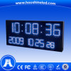 Clearly Showing Outdoor Blue P10 DIP546 Stadium Clock LED Display