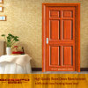 MDF Veneer Wooden Door for Balcony (GSP6-016)