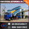 New Hydraulic 6 8 10 12 16 Ton Large Truck Mounted Crane for Sale, 360 Degree Rotation 16 Ton Truck Cranes