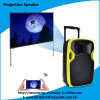 Professional 12 Inches Portable DJ Speaker with LED Projector