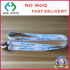 Custom Polyester Heat Transfer Printing Lanyard with Double Bulldog Clip for Promotion