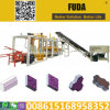 Qt4-18 Hydraulic System Semi Automatic Concrete Paver and Brick Making Machine Price List Sales in Ghana