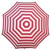 Foldable Red Stripe Tc Fabric High Quality Beach Umbrella