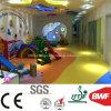 Anti Bacteria Non-Toxic Soft Kindergarten Vinyl Flooring 3mm Solid Yellow Color
