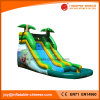 PVC Tarpaulin Inflatable Large Jungle Slide with Pool (T11-105)