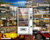 Full Range of Snack 9 Columns Vending Machine Operated by Mdb